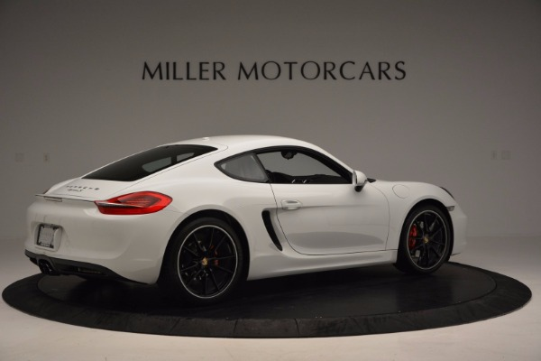Used 2014 Porsche Cayman S for sale Sold at Aston Martin of Greenwich in Greenwich CT 06830 8