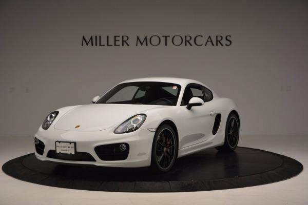 Used 2014 Porsche Cayman S for sale Sold at Aston Martin of Greenwich in Greenwich CT 06830 1