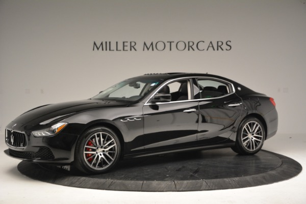 Used 2016 Maserati Ghibli S Q4  EX-LOANER for sale Sold at Aston Martin of Greenwich in Greenwich CT 06830 2