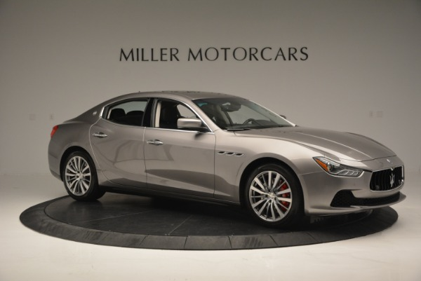 Used 2016 Maserati Ghibli S Q4  EX- LOANER for sale Sold at Aston Martin of Greenwich in Greenwich CT 06830 10