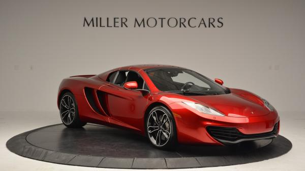 Used 2013 McLaren 12C Spider for sale Sold at Aston Martin of Greenwich in Greenwich CT 06830 21