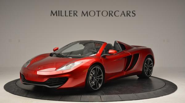 Used 2013 McLaren 12C Spider for sale Sold at Aston Martin of Greenwich in Greenwich CT 06830 1