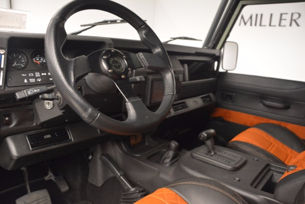Used 1997 Land Rover Defender 90 for sale Sold at Aston Martin of Greenwich in Greenwich CT 06830 13