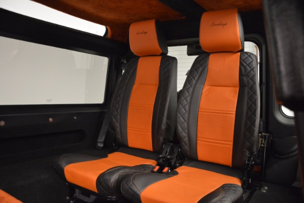 Used 1997 Land Rover Defender 90 for sale Sold at Aston Martin of Greenwich in Greenwich CT 06830 16