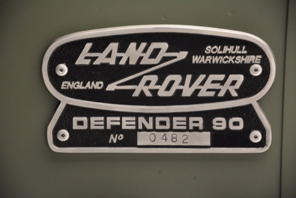 Used 1997 Land Rover Defender 90 for sale Sold at Aston Martin of Greenwich in Greenwich CT 06830 25