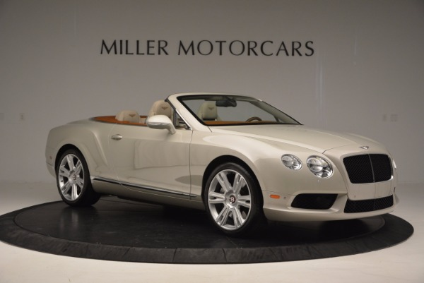 Used 2013 Bentley Continental GTC V8 for sale Sold at Aston Martin of Greenwich in Greenwich CT 06830 10