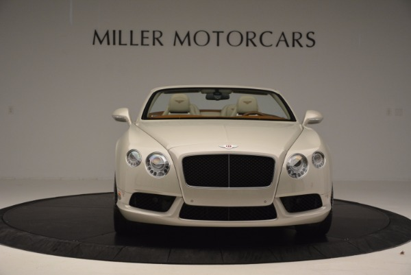 Used 2013 Bentley Continental GTC V8 for sale Sold at Aston Martin of Greenwich in Greenwich CT 06830 12