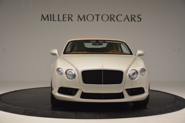 Used 2013 Bentley Continental GTC V8 for sale Sold at Aston Martin of Greenwich in Greenwich CT 06830 13