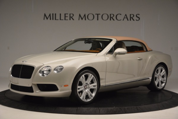 Used 2013 Bentley Continental GTC V8 for sale Sold at Aston Martin of Greenwich in Greenwich CT 06830 15