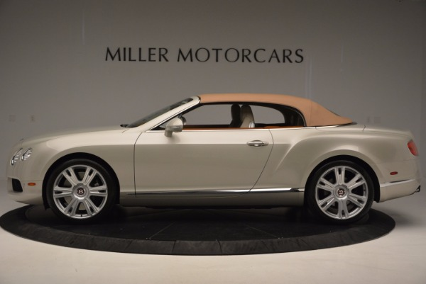 Used 2013 Bentley Continental GTC V8 for sale Sold at Aston Martin of Greenwich in Greenwich CT 06830 16