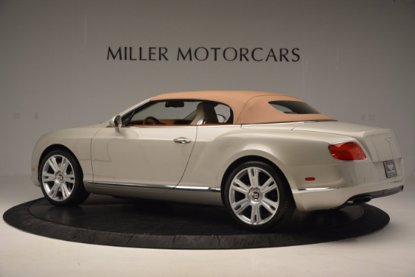 Used 2013 Bentley Continental GTC V8 for sale Sold at Aston Martin of Greenwich in Greenwich CT 06830 17