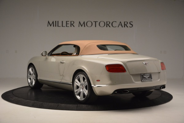 Used 2013 Bentley Continental GTC V8 for sale Sold at Aston Martin of Greenwich in Greenwich CT 06830 18