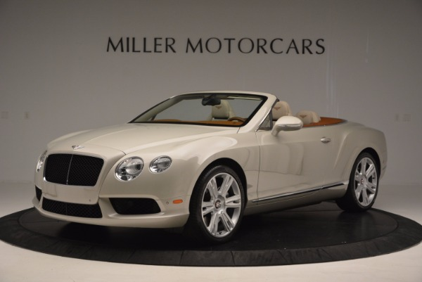 Used 2013 Bentley Continental GTC V8 for sale Sold at Aston Martin of Greenwich in Greenwich CT 06830 2