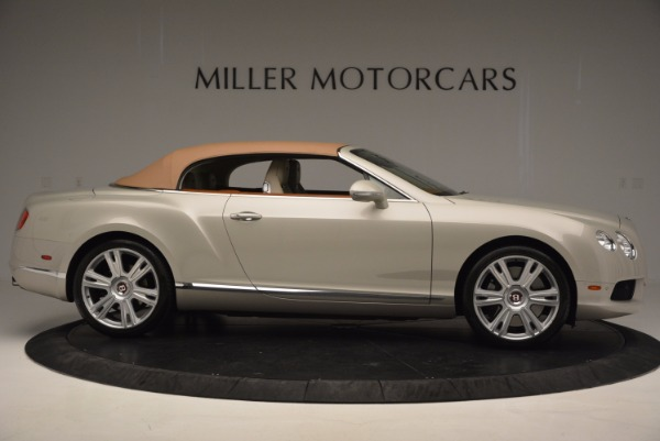 Used 2013 Bentley Continental GTC V8 for sale Sold at Aston Martin of Greenwich in Greenwich CT 06830 22
