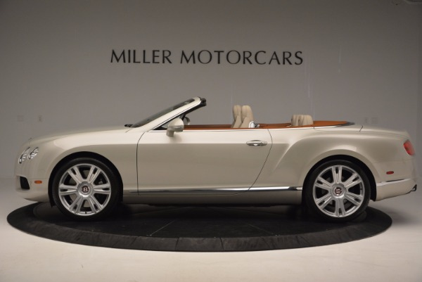 Used 2013 Bentley Continental GTC V8 for sale Sold at Aston Martin of Greenwich in Greenwich CT 06830 3