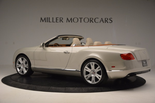 Used 2013 Bentley Continental GTC V8 for sale Sold at Aston Martin of Greenwich in Greenwich CT 06830 4