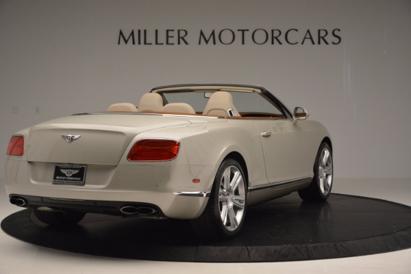 Used 2013 Bentley Continental GTC V8 for sale Sold at Aston Martin of Greenwich in Greenwich CT 06830 7