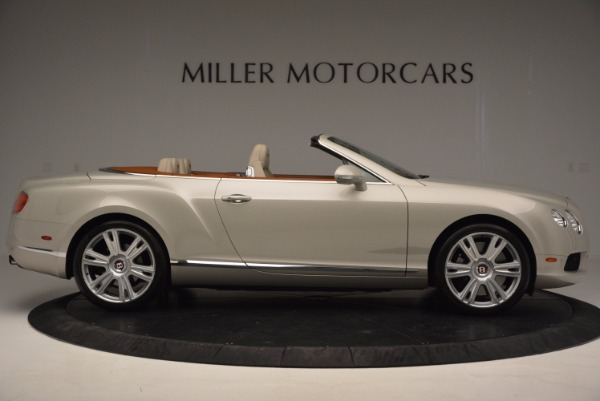 Used 2013 Bentley Continental GTC V8 for sale Sold at Aston Martin of Greenwich in Greenwich CT 06830 9
