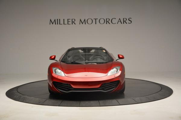 Used 2013 McLaren 12C Spider for sale Sold at Aston Martin of Greenwich in Greenwich CT 06830 12