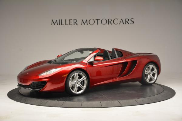 Used 2013 McLaren 12C Spider for sale Sold at Aston Martin of Greenwich in Greenwich CT 06830 2