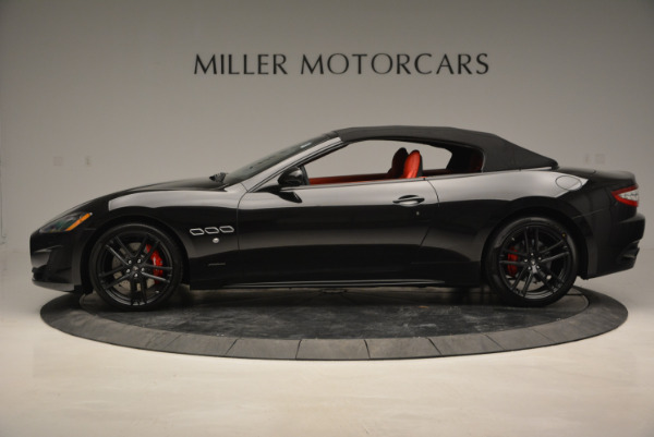 New 2017 Maserati GranTurismo Cab Sport for sale Sold at Aston Martin of Greenwich in Greenwich CT 06830 6