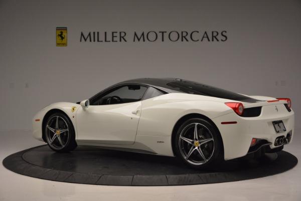 Used 2012 Ferrari 458 Italia for sale Sold at Aston Martin of Greenwich in Greenwich CT 06830 4
