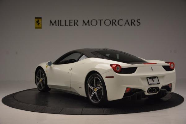 Used 2012 Ferrari 458 Italia for sale Sold at Aston Martin of Greenwich in Greenwich CT 06830 5