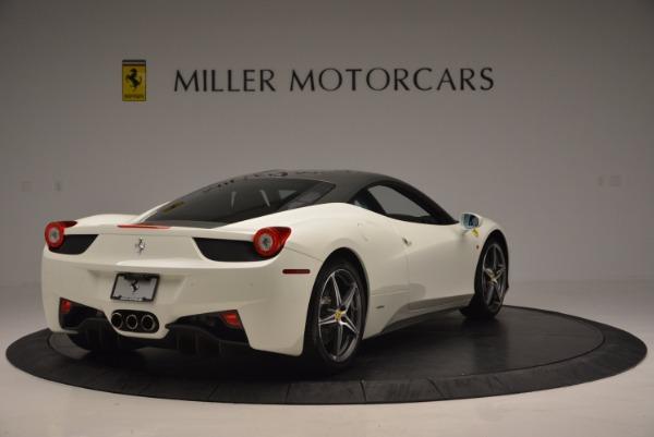 Used 2012 Ferrari 458 Italia for sale Sold at Aston Martin of Greenwich in Greenwich CT 06830 7