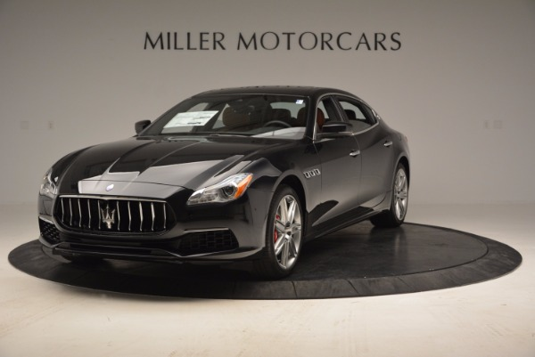 New 2017 Maserati Quattroporte S Q4 GranLusso for sale Sold at Aston Martin of Greenwich in Greenwich CT 06830 1