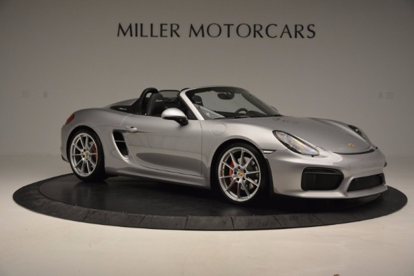 Used 2016 Porsche Boxster Spyder for sale Sold at Aston Martin of Greenwich in Greenwich CT 06830 10