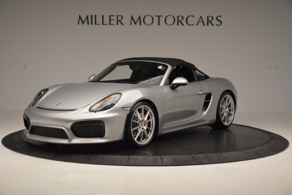 Used 2016 Porsche Boxster Spyder for sale Sold at Aston Martin of Greenwich in Greenwich CT 06830 13
