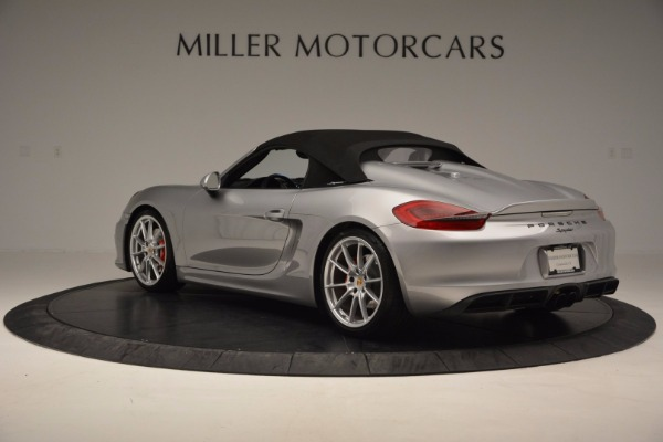 Used 2016 Porsche Boxster Spyder for sale Sold at Aston Martin of Greenwich in Greenwich CT 06830 15