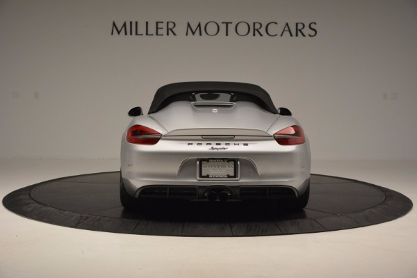 Used 2016 Porsche Boxster Spyder for sale Sold at Aston Martin of Greenwich in Greenwich CT 06830 16
