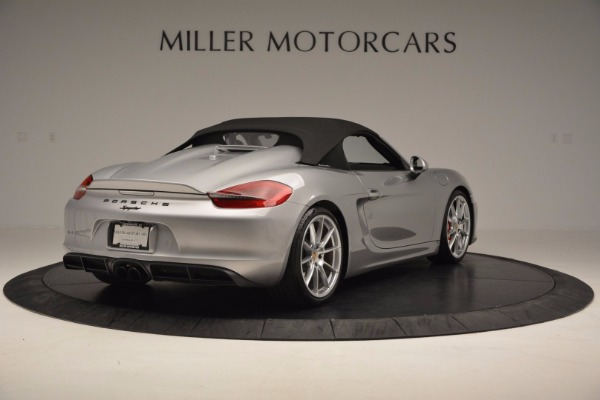 Used 2016 Porsche Boxster Spyder for sale Sold at Aston Martin of Greenwich in Greenwich CT 06830 17