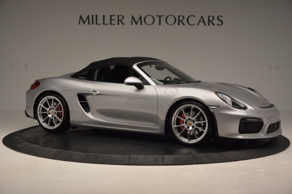 Used 2016 Porsche Boxster Spyder for sale Sold at Aston Martin of Greenwich in Greenwich CT 06830 19