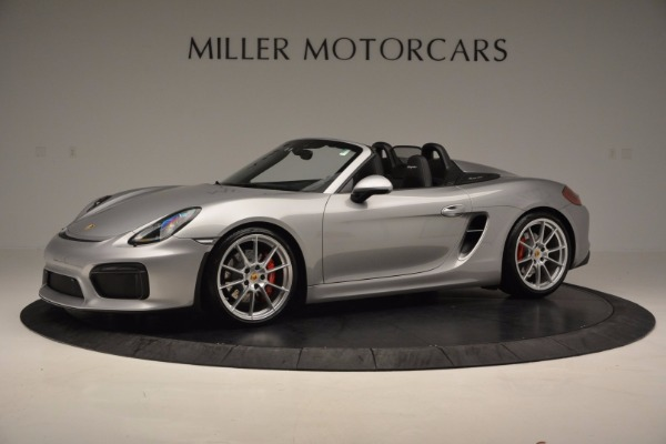 Used 2016 Porsche Boxster Spyder for sale Sold at Aston Martin of Greenwich in Greenwich CT 06830 2