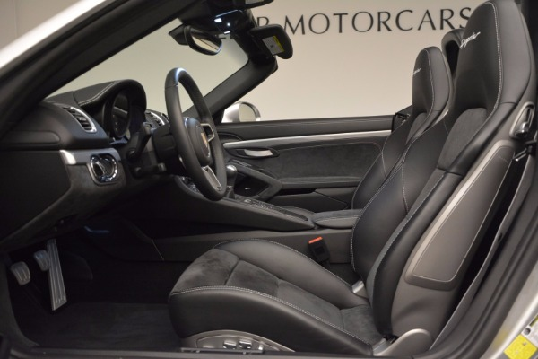Used 2016 Porsche Boxster Spyder for sale Sold at Aston Martin of Greenwich in Greenwich CT 06830 21