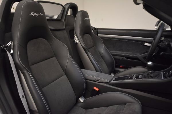 Used 2016 Porsche Boxster Spyder for sale Sold at Aston Martin of Greenwich in Greenwich CT 06830 25