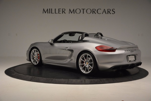 Used 2016 Porsche Boxster Spyder for sale Sold at Aston Martin of Greenwich in Greenwich CT 06830 4