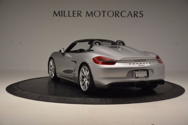 Used 2016 Porsche Boxster Spyder for sale Sold at Aston Martin of Greenwich in Greenwich CT 06830 5