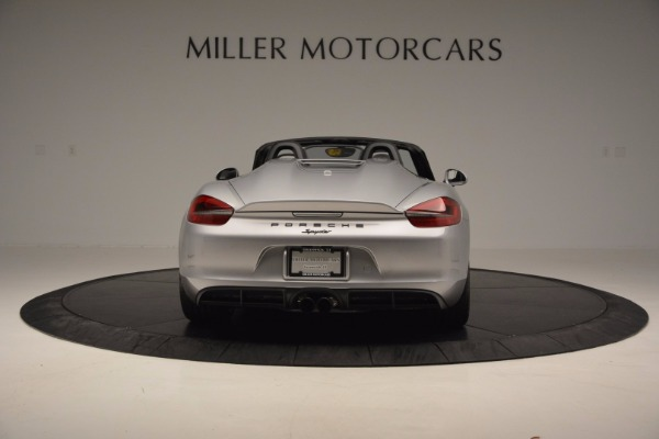 Used 2016 Porsche Boxster Spyder for sale Sold at Aston Martin of Greenwich in Greenwich CT 06830 6