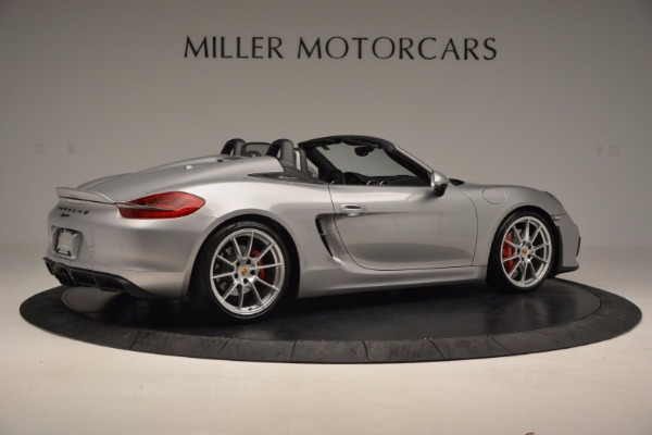 Used 2016 Porsche Boxster Spyder for sale Sold at Aston Martin of Greenwich in Greenwich CT 06830 8