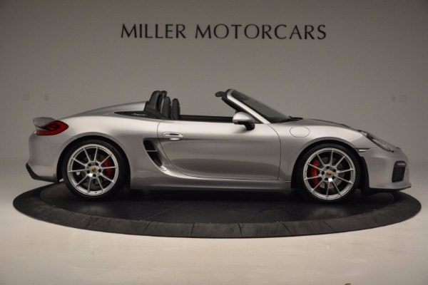 Used 2016 Porsche Boxster Spyder for sale Sold at Aston Martin of Greenwich in Greenwich CT 06830 9
