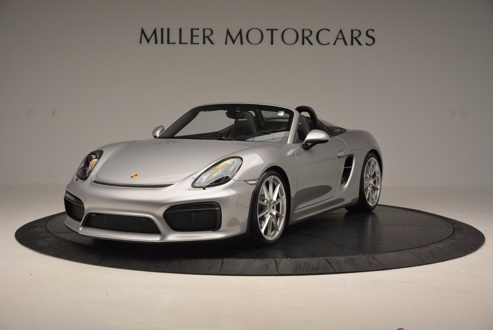Used 2016 Porsche Boxster Spyder for sale Sold at Aston Martin of Greenwich in Greenwich CT 06830 1