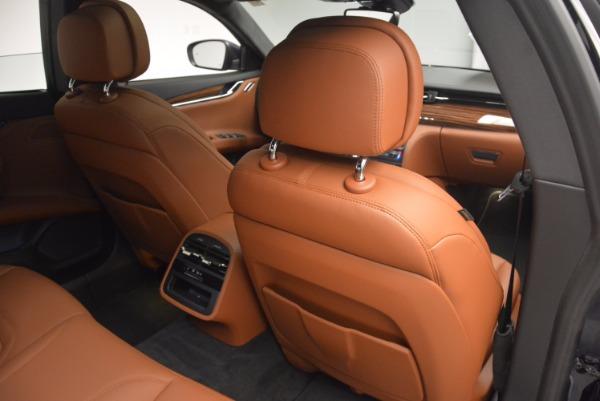 New 2017 Maserati Quattroporte S Q4 GranLusso for sale Sold at Aston Martin of Greenwich in Greenwich CT 06830 22