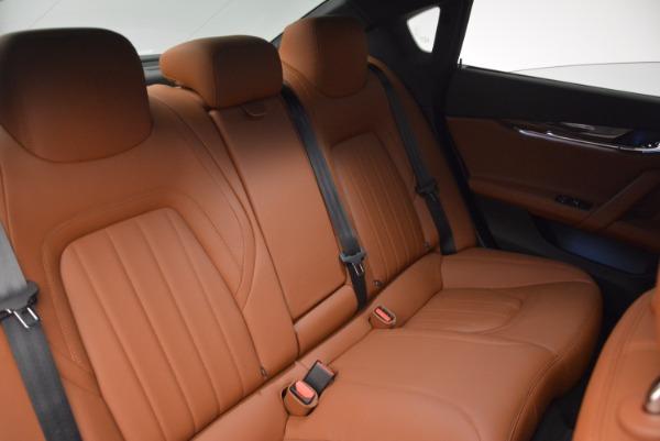New 2017 Maserati Quattroporte S Q4 GranLusso for sale Sold at Aston Martin of Greenwich in Greenwich CT 06830 24