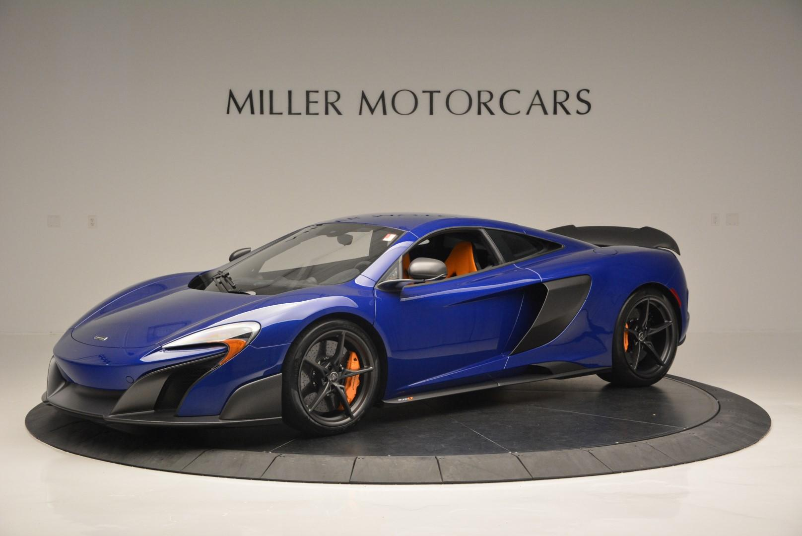 Used 2016 McLaren 675LT Coupe for sale $235,900 at Aston Martin of Greenwich in Greenwich CT 06830 1
