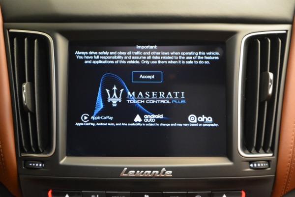 New 2017 Maserati Levante S for sale Sold at Aston Martin of Greenwich in Greenwich CT 06830 27