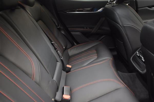 New 2017 Maserati Ghibli for sale Sold at Aston Martin of Greenwich in Greenwich CT 06830 23