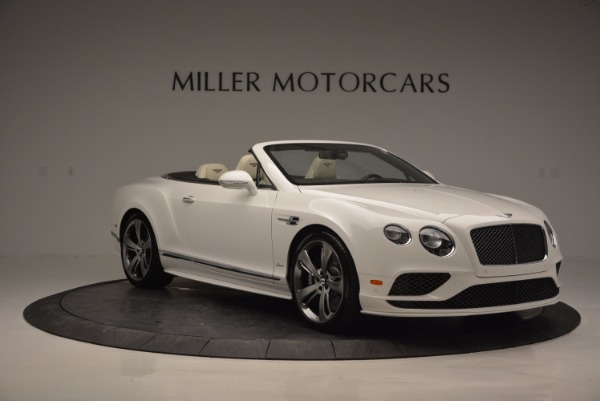 New 2017 Bentley Continental GT Speed Convertible for sale Sold at Aston Martin of Greenwich in Greenwich CT 06830 11